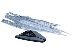 Mass Effect Alliance Cruiser Ship Silver Limited Edition