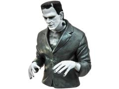 Universal Monsters Bust Bank - Frankenstein Black & White Version