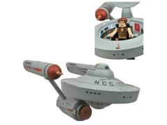 Star Trek Minimates Mirror Mirror Starship Enterprise & Captain Kirk Exclusive