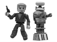 Lost In Space Minimates Dr. Zachary Smith & Robot B9 SDCC 2013 Exclusive
