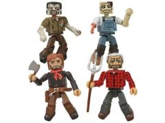The Walking Dead Comic Minimates Herschel's Farm Four Pack SDCC 2013 Exclusive