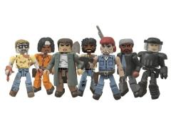 The Walking Dead Minimates Series 5 Two Pack Set of 4