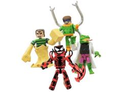 Spider-Man Minimates Deadly Foes Four Pack Exclusive