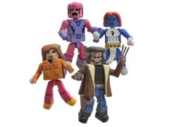 Days of Future Past Minimates X-Men Four Pack SDCC 2014 Exclusive