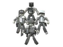 The Walking Dead Minimates Days Gone By Four Pack SDCC 2014 Exclusive
