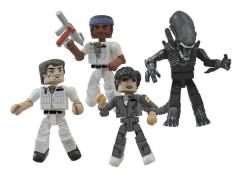 Alien 35th Anniversary Minimates Four Pack
