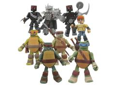 TMNT Minimates Series 1 Box of 18 Figures