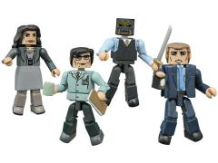 Gotham Minimates Series 1 Four Pack