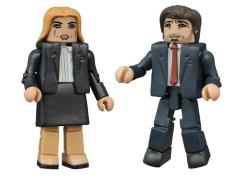 The X-Files Minimates Scully & Mulder