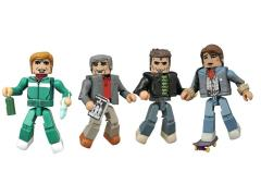 Back To The Future 30th Anniversary Minimates 1985 Four Pack