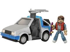 Back To The Future Minimates Vehicle Time Machine #1