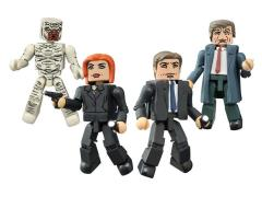 The X-Files Classic Minimates Four Pack