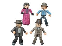 Back To The Future 30th Anniversary Minimates 1885 Four Pack