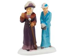 Dowager Countess and Young Friend Figurine