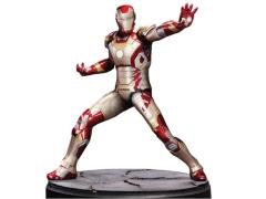 1/9 Scale Iron Man Mark 42 Model Kit - Painted