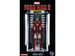 1/9 Scale Hall of Armor Iron Man Mark VII With Light Up Hall - Model Kit