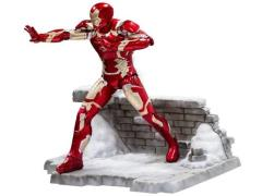 Avengers: Age of Ultron 1/9 Scale Model Kit Vignette Iron Man Mark XLIII