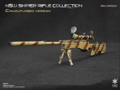 1/6 Scale NSW Sniper Rifle Collection Camouflaged - MK13MOD5