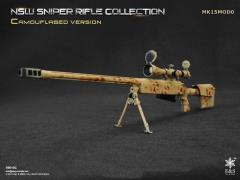 1/6 Scale NSW Sniper Rifle Collection Camouflaged - MK15MOD0