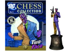 DC Superhero Chess Figure Collection #6 - Two-Face Black Knight