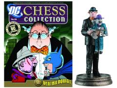 DC Superhero Chess Figure Collection #29 - Ventriloquist Black Pawn