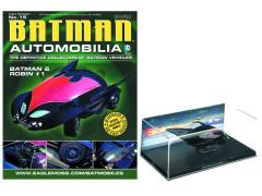 #015 - Batman & Robin #1 Bat 1/43  Scale Vehicle & Magazine