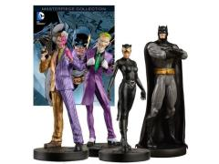 DC Masterpiece Figure Collection Magazine #1 - Batman 75th Anniversary Set