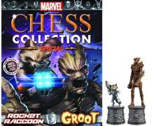 Marvel Chess Figure Collection Special Edition #2 - Rocket Raccoon & Groot