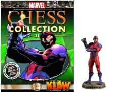 Marvel Chess Figure Collection #31 - Klaw Black Pawn