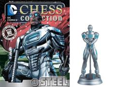 DC Superhero Chess Figure Collection #84 - Steel White Pawn