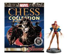 Marvel Chess Figure Collection #46 - Lady Deathstrike Black Pawn