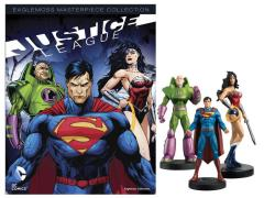 DC Masterpiece Figure Collection Magazine #3 - Justice League