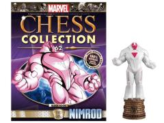 Marvel Chess Figure Collection #62 - Nimrod Black Rook