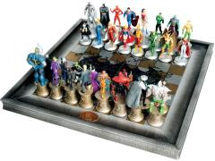 DC Superhero Chess Figure Collection - The Complete Justice League Set