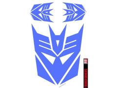 Transformers Car Graphics Set - Decepticons Purple