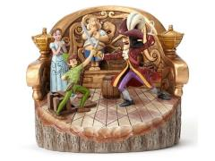 Peter Pan Disney Traditions Carved by Heart