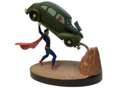 DC Comics Premium Motion Statue - Superman Action Comics No. 1