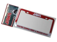 Jaws Bigger Boat License Plate Frame