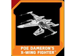 Star Wars Metal Earth Poe Dameron's X-Wing Fighter (The Force Awakens) Model Kit