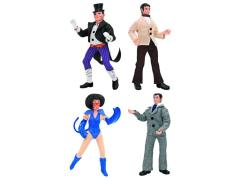 "DC World's Greatest Heroes Series 2 Retro 8"" Figures Set of 4"