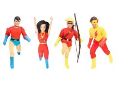 "DC Retro 8"" Figure Series 01 Teen Titans - Set of 4"