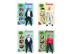 "Batman Classic 1966 TV World's Greatest Heroes Series 2 Retro 8"" Figures Set of 4"