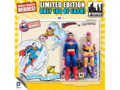 "DC World's Greatest Heroes Superman & Mr. Myxptlk 8"" Retro Figures Limited Edition Two Pack"