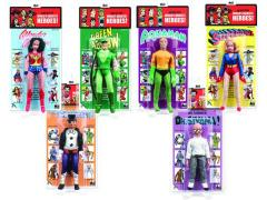 "DC World's Greatest Heroes Series 2 Retro 8"" Figures Set of 6"