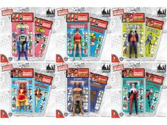 "DC World's Greatest Heroes Series 3 Retro 8"" Figures Set of 6"