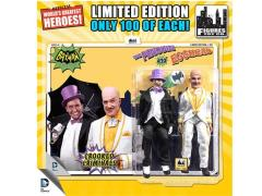 "Batman Classic 1966 TV World's Greatest Heroes Penguin & Egghead 8"" Retro Figures Limited Edition Two Pack"