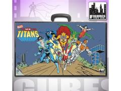 "New Teen Titans World's Greatest Heroes 8"" Retro Figure Carrying Case"