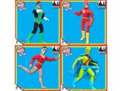 "DC World's Greatest Heroes Super Powers Series 3 Retro 8"" Figures Set of 4"