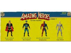 "Amazing Heroes 4.5"" Figures Series 01 - Set of 4"