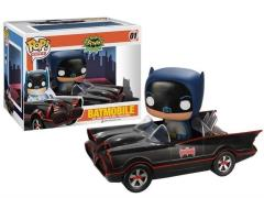 Pop! Rides: Batman Classic - Batmobile with Batman